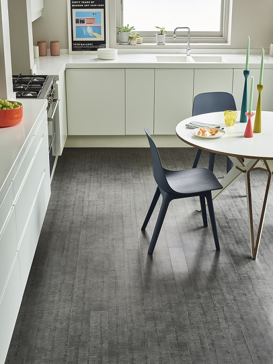 Ridge Flint in the Amtico Spacia abstract collection available from Flooring 4 You Ltd in Cheshire