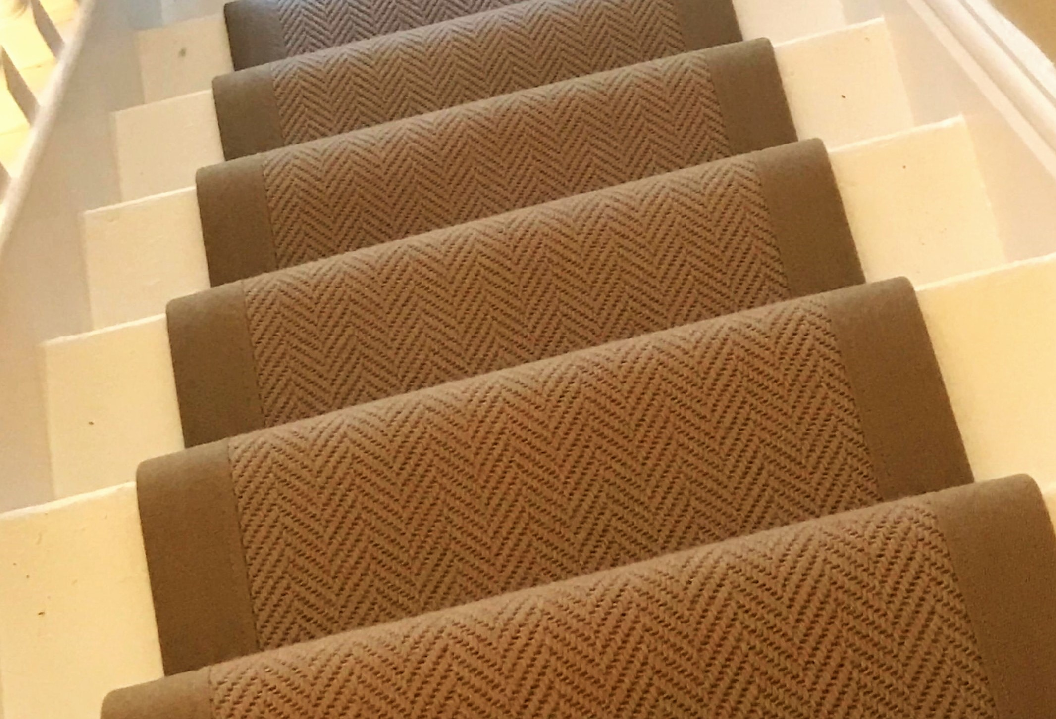 Stylish Stair Runners Offer The Best Of Both Worlds