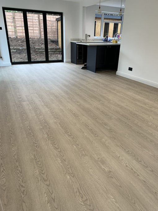 Amtico Form Barrel Oak Smoke installed in Bowdon by Flooring 4 You Ltd