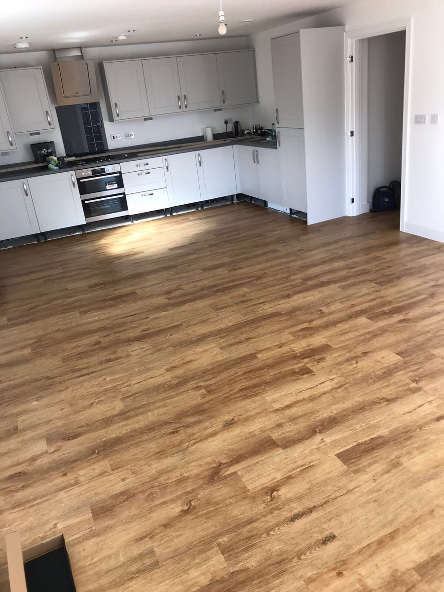 Flooring 4 You installed Amtico Form Rural Oak to a home in Didsbury Manchester
