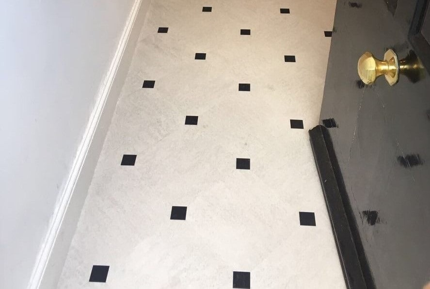 Flooring 4 You Ltd installed Amtico Signature LVT to a keystone pattern at a home in Altrincham
