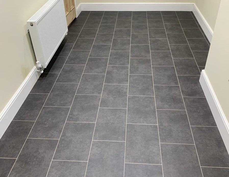 Flooring 4 You installed Amtico Spacia Ceramic Flint at a home in Lymm Cheshire