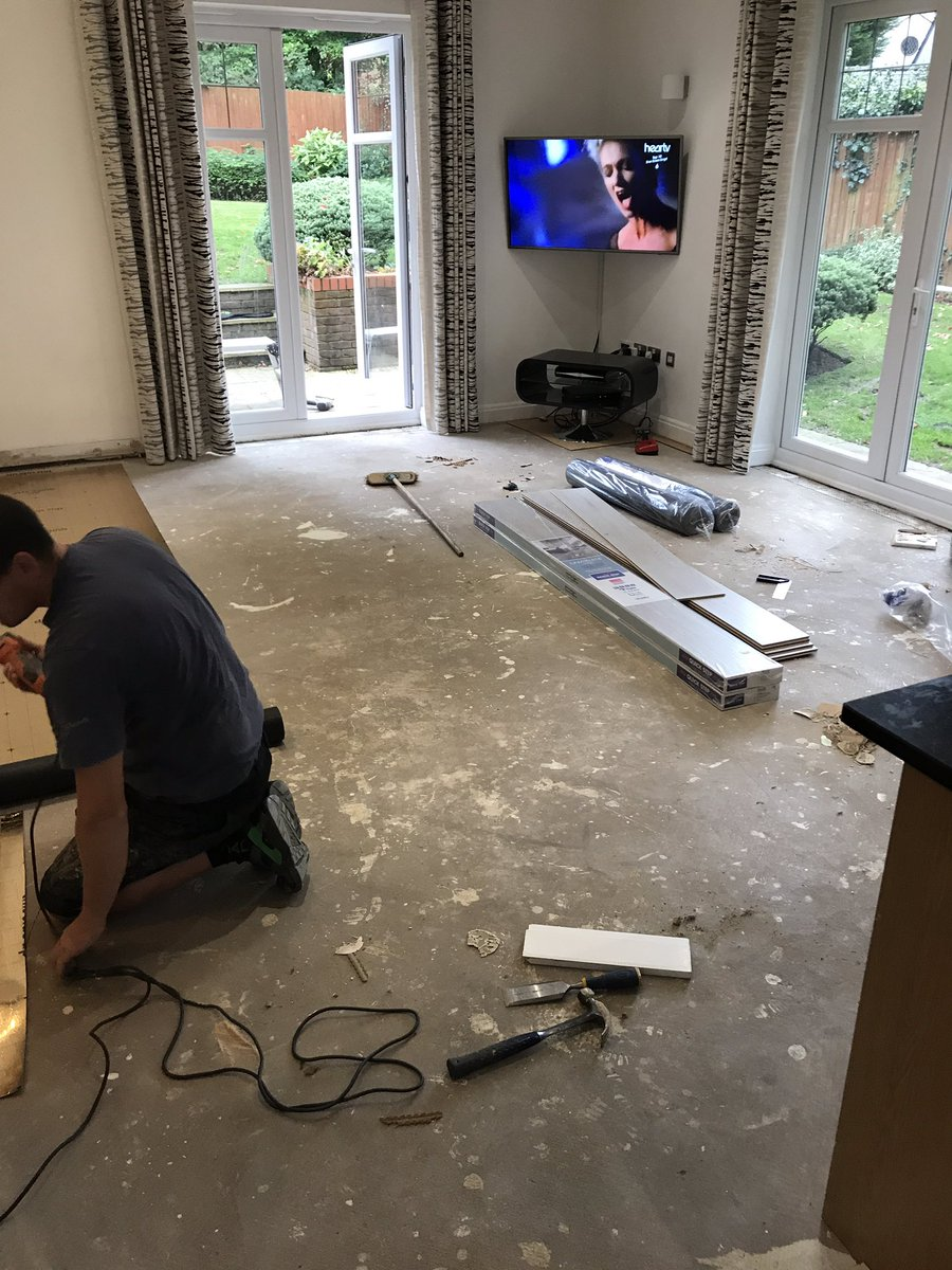 Quick-Step laminate flooring installation by Flooring 4 You Ltd Quick-Step Master Installers