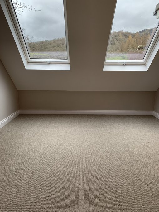 Rustica wool carpet from Crucial Trading installed by Flooring 4 You Ltd