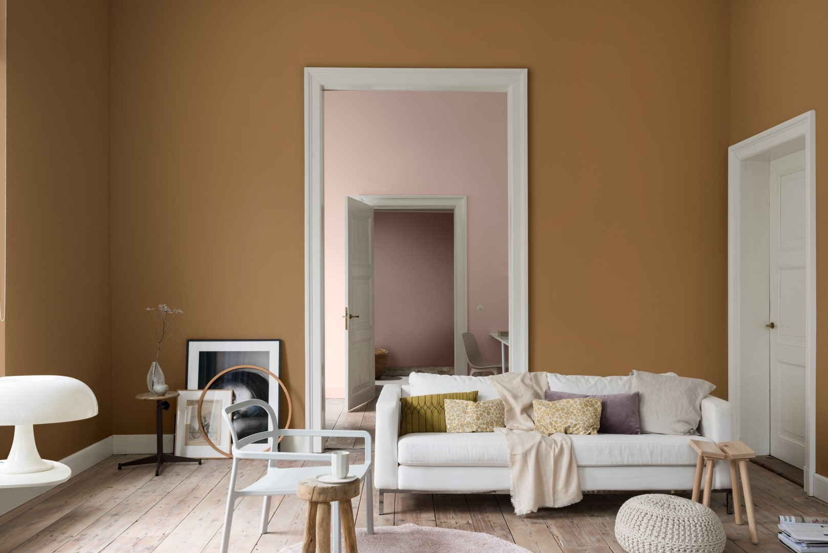 Dulux Colour of the Year Spiced Honey and what flooring works with it