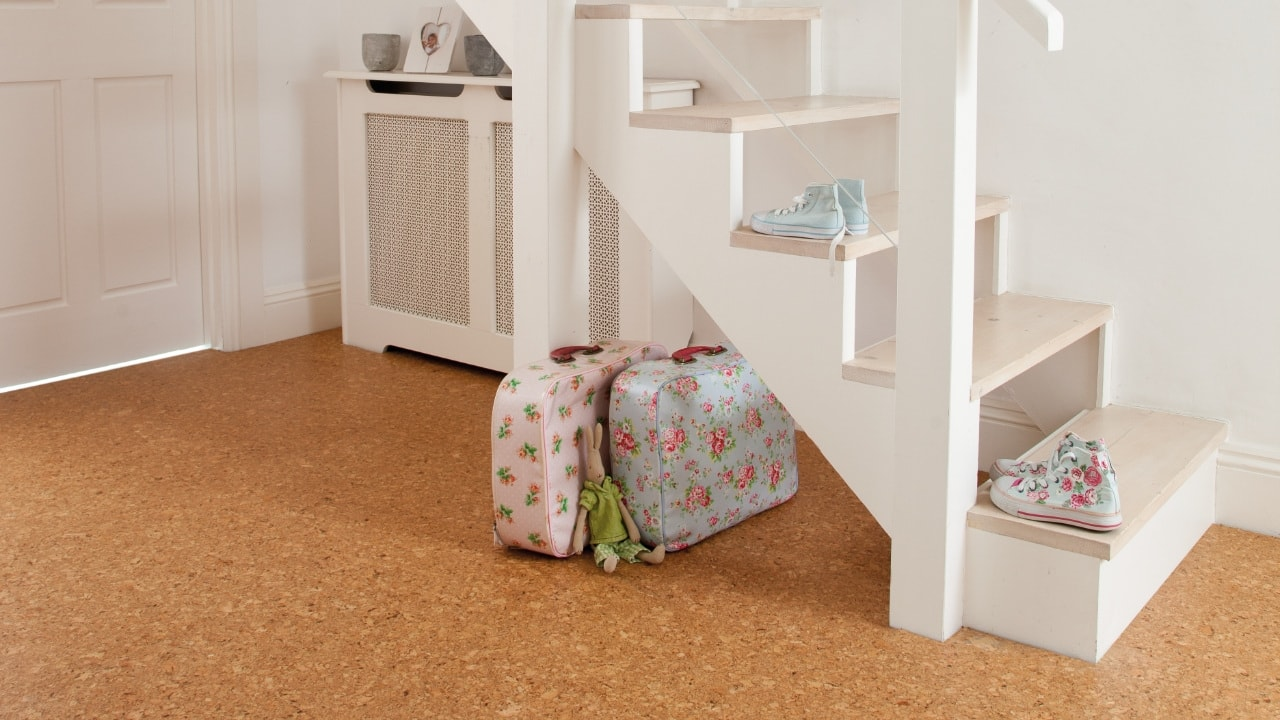 A traditional style cork floor from Granorte, available from Flooring 4 You Ltd
