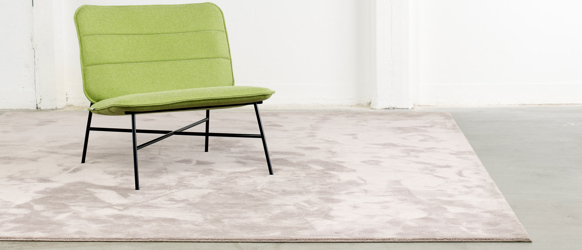 Faux silk rug Monaco from ITC Natural Luxury Carpets is available from Flooring 4 You Ltd in Cheshire