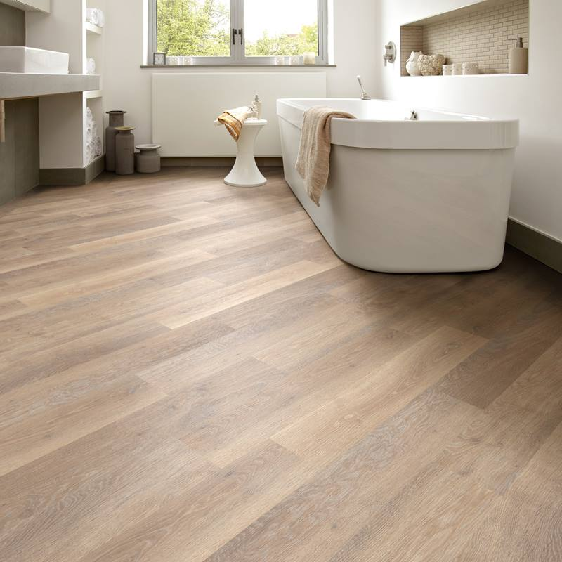 Karndean Knight Tile KP95 Rose Washed Oak luxury vinyl, available from Flooring 4 You Ltd