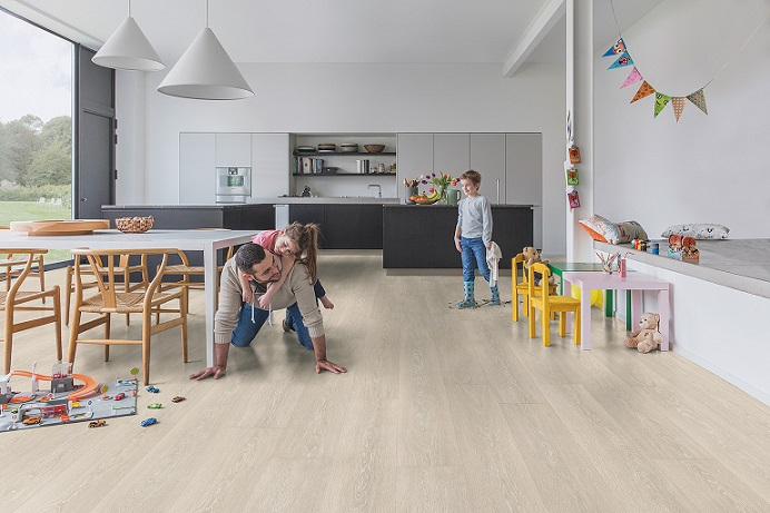 Big Is Best Open Plan Rooms Need Flooring To Accentuate Space