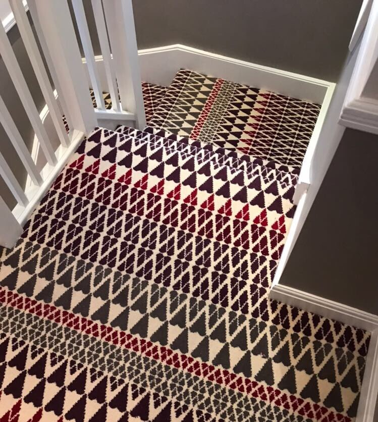 Alternative Flooring Quirky B Margo Selby Fair Isle Reiko carpet