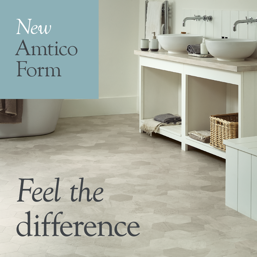 Amtico Form Opal Stone LVT flooring is available from Flooring 4 You Ltd in Cheshire