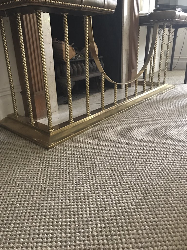 Crucial Trading Oriental sisal in antique gold, installed to a home in Altrincham by Flooring 4 You Ltd