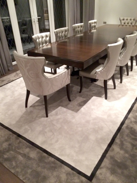 Bespoke elegant Nusilk rug from Sylka Carpets - available from Flooring 4 You Ltd in Cheshire