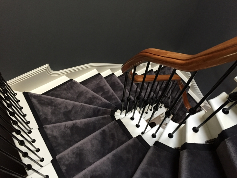 Sylka carpets satin soft stair runner - available from Flooring 4 You Ltd