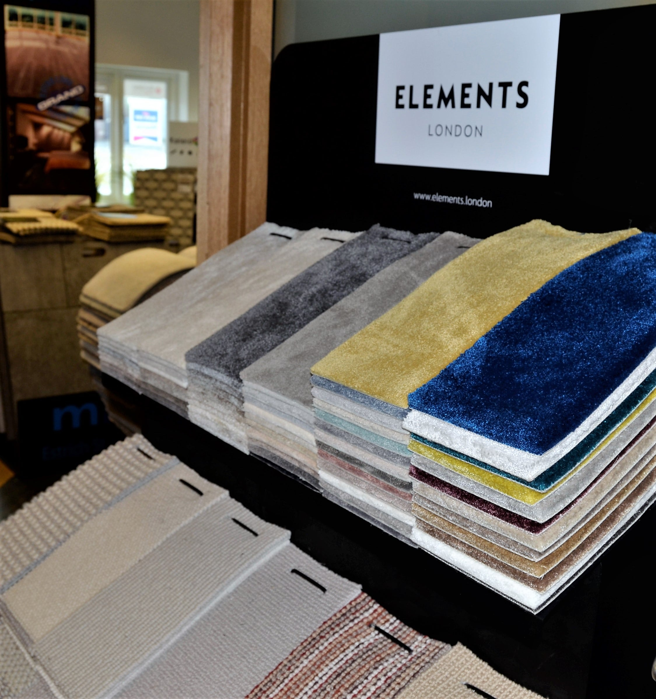 Elements London luxury heavy wear carpets available at Knutsford Flooring 4 You showroom