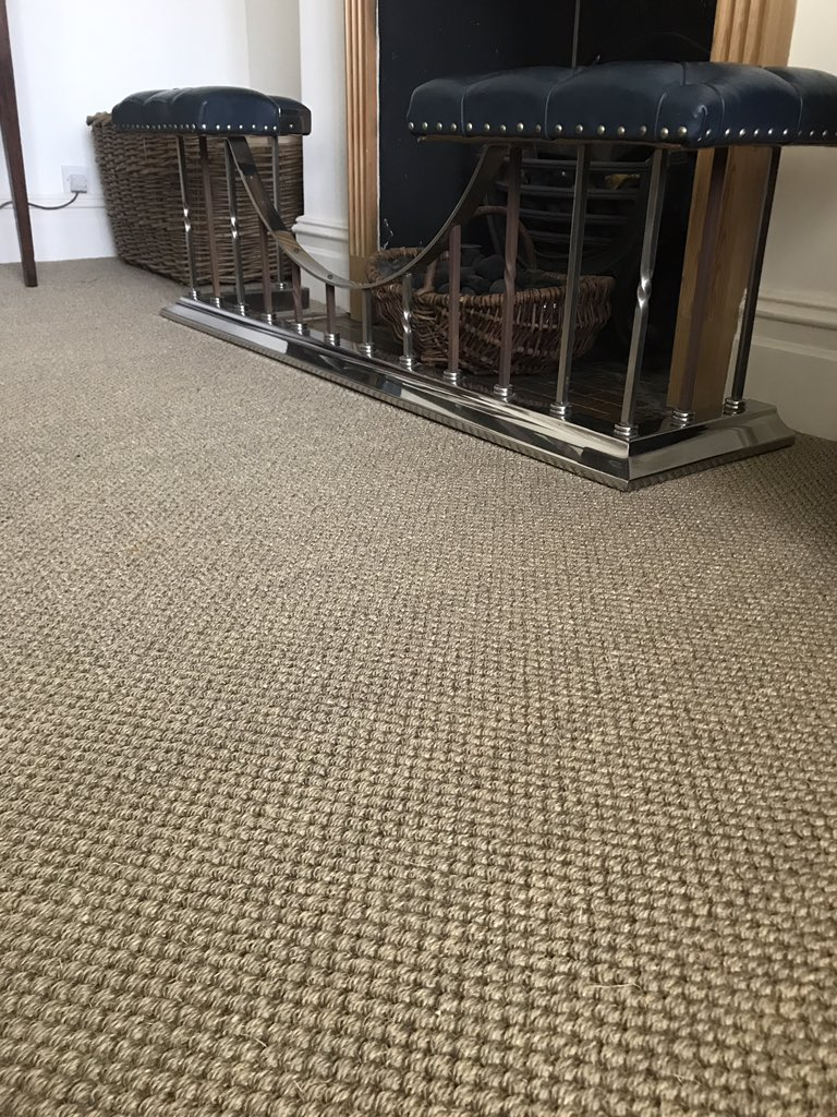 Crucial Trading Sisal Oriental In Antique Gold Installed By Flooring 4 You Ltd Altrincham