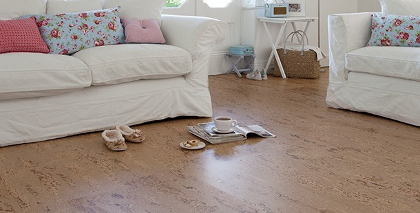 Granorte cork sustainable flooring available from Flooring 4 You Ltd
