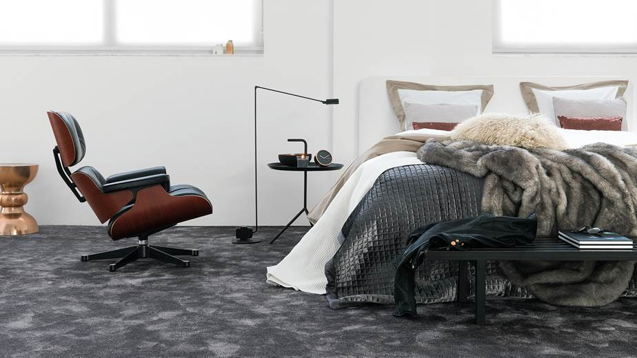 Super soft carpet in the iSense Sensuality collection from Associated Weavers