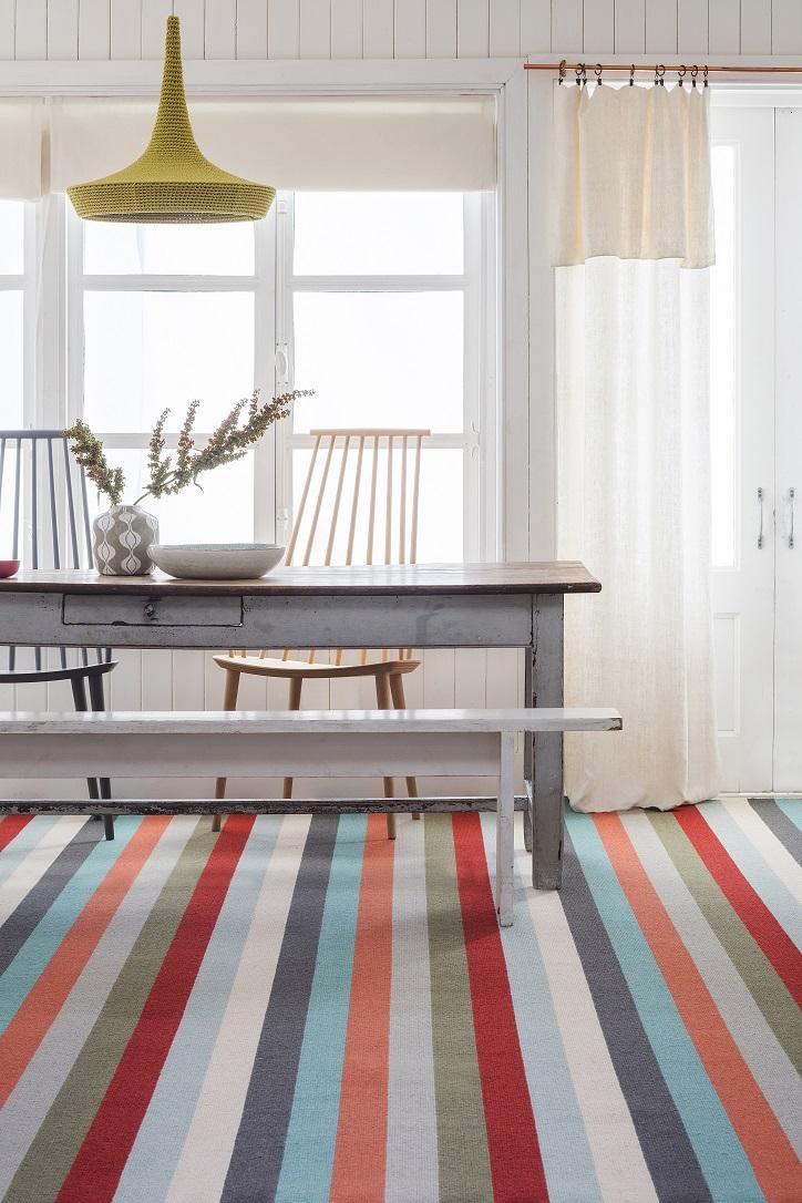 Alternative Flooring Margo Selby Strip frolic carpet available from Flooring 4 You Ltd