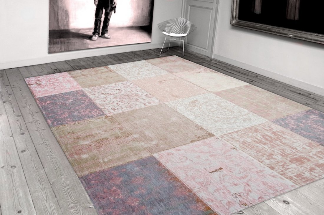Louis de Poortere Multi Bolshoi Pick rug from the Cameo Collection available from Flooring 4 You Ltd in Cheshire
